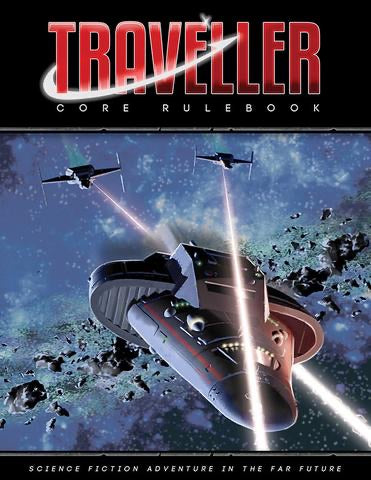 Traveller Core Rulebook - Includes PDF