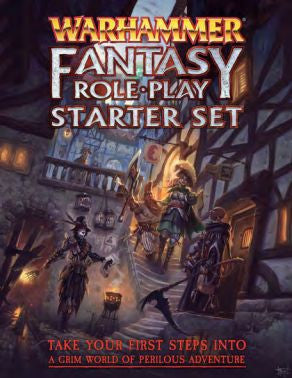 Warhammer Fantasy Roleplay 4th Edition Starter Set - Cubicle 7 - Rare Roleplay