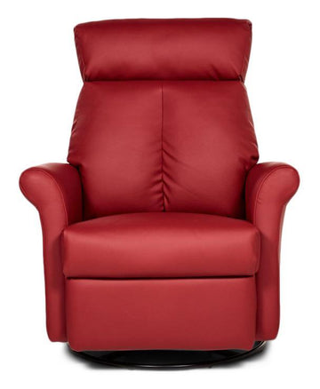 Elran - Fauteuil inclinable en cuir Avery - Salon