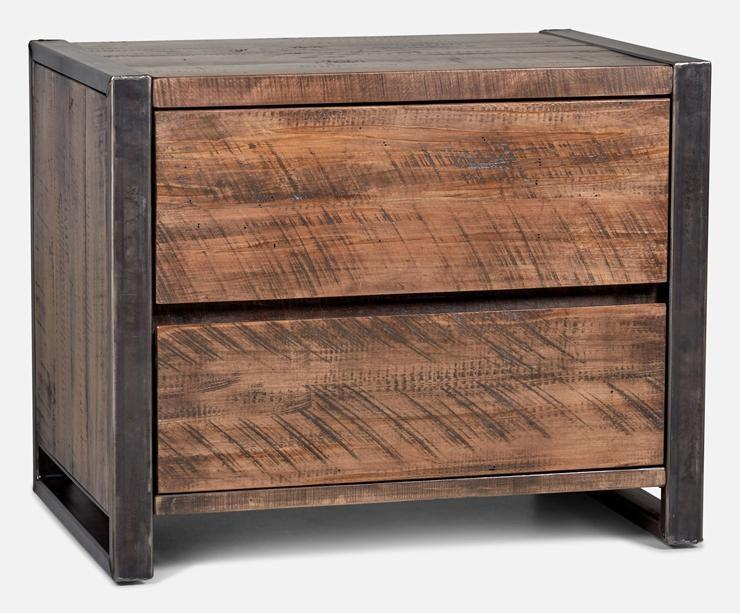 Table de chevet - Ruffsawn