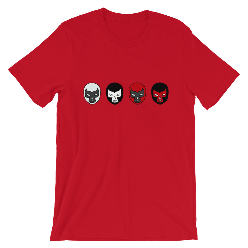 Lucha Libre Masks T-Shirt - Chodmunch