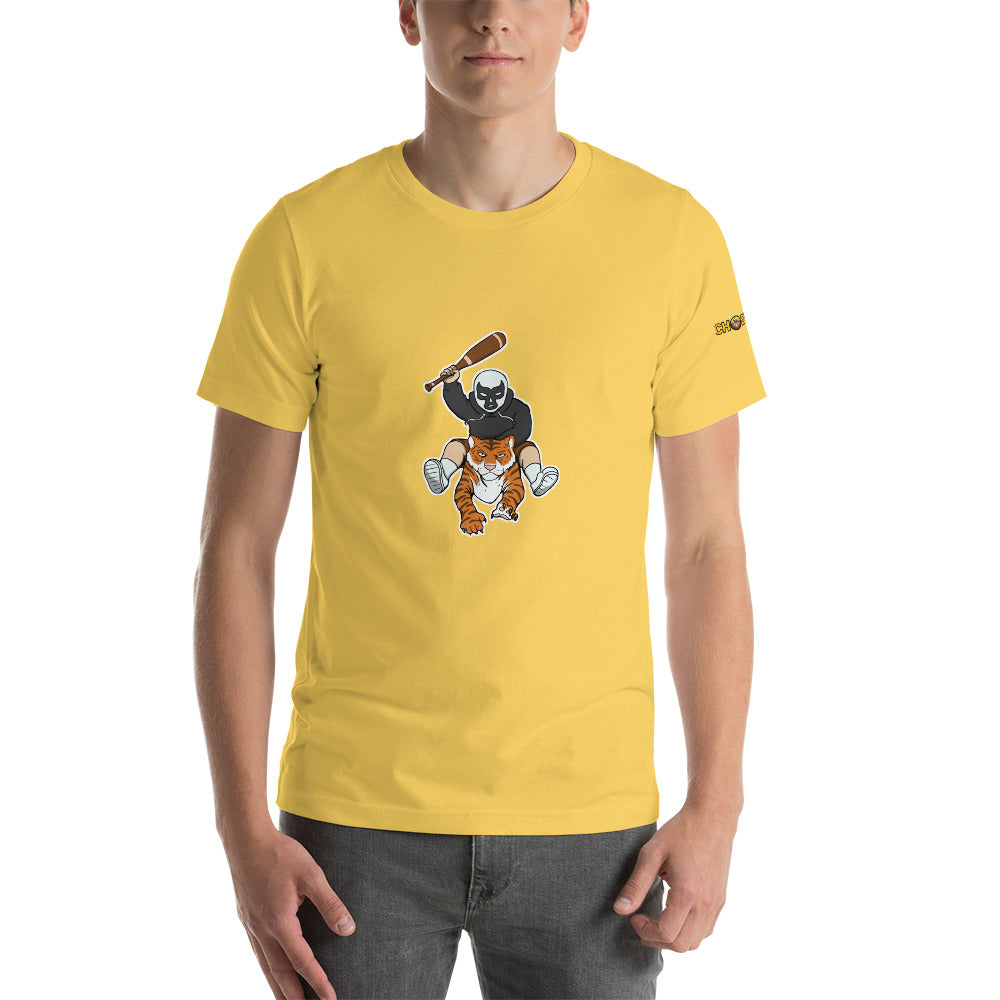 Tiger Man T-Shirt with Logo - Chodmunch