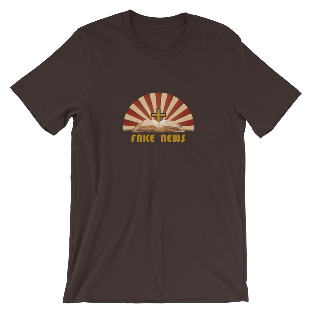 Fake News Bible T-Shirt - Chodmunch