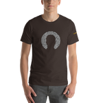 Static Head Silhouette T-Shirt with Logo - Chodmunch