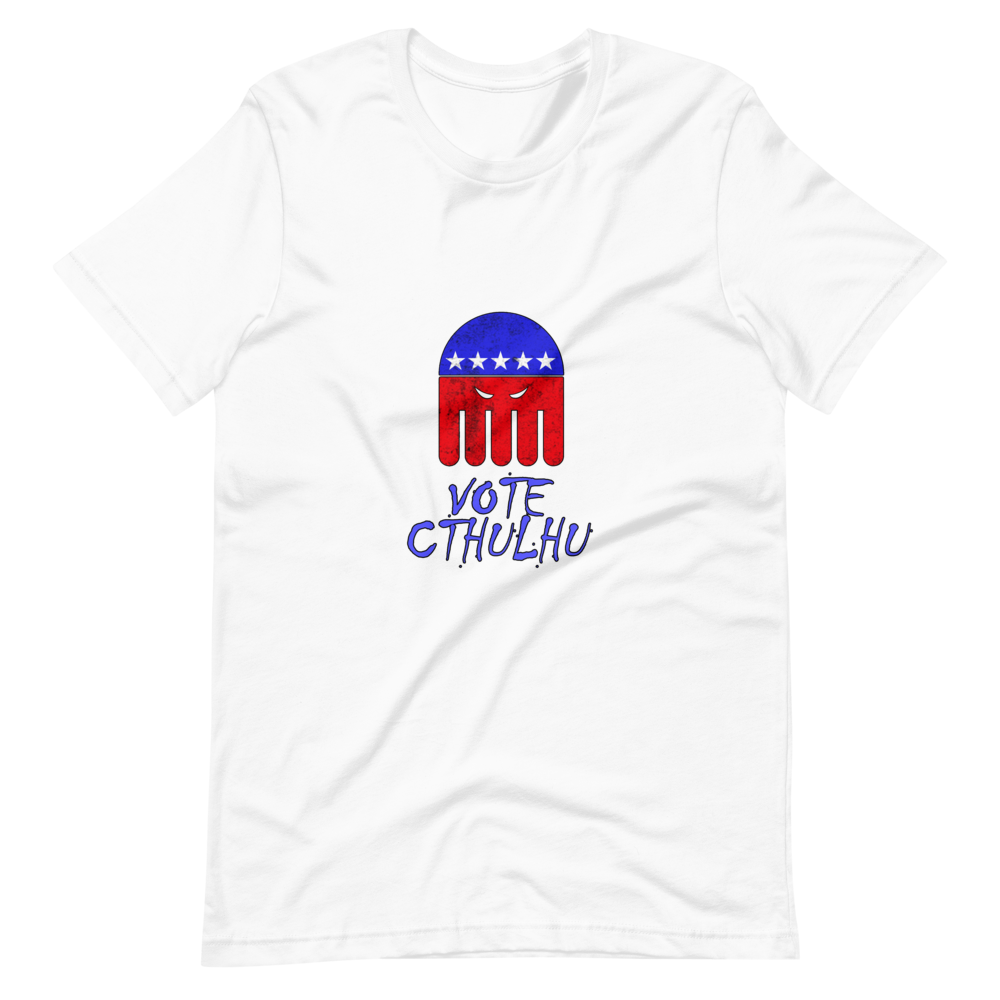 Vote Cthulhu T-Shirt - Chodmunch