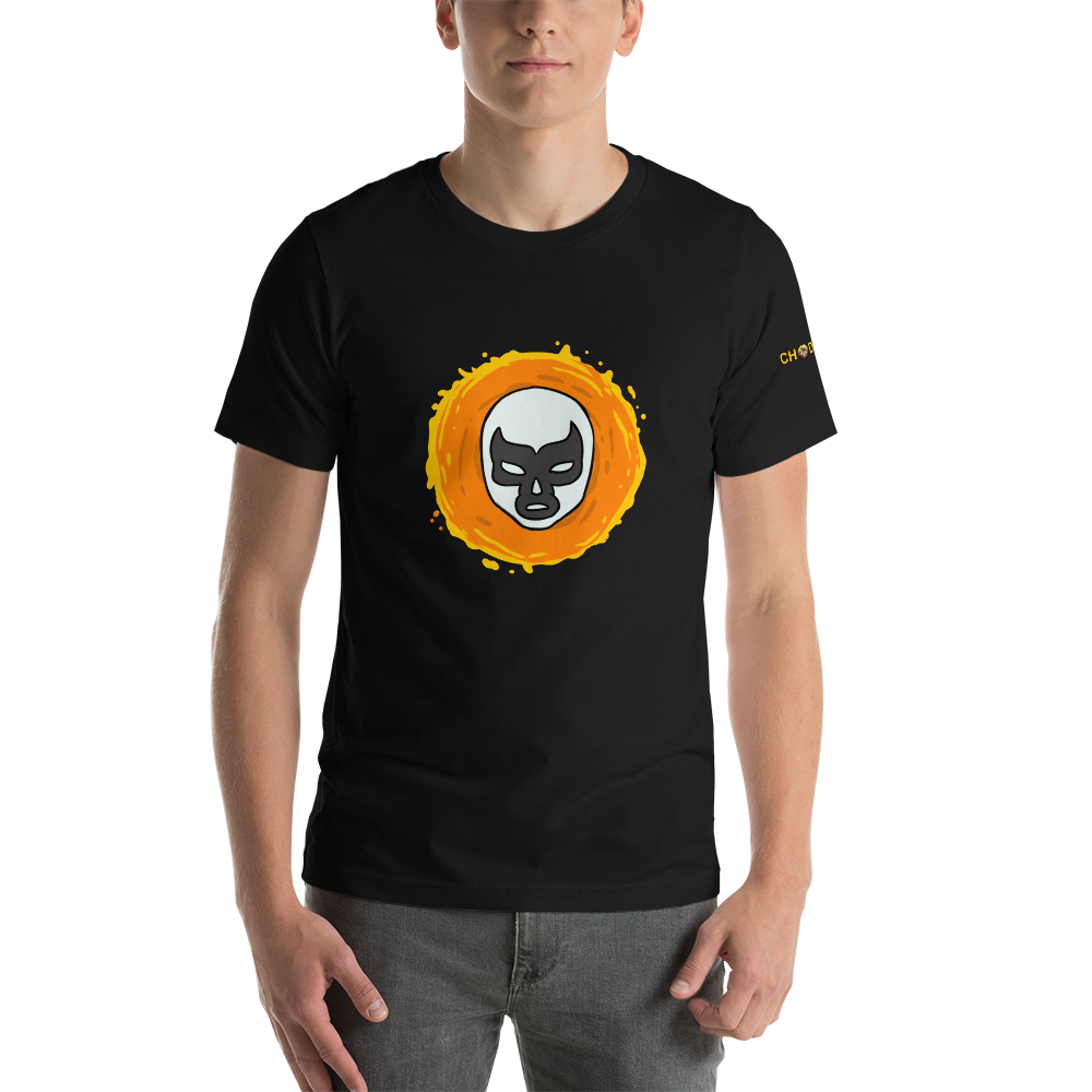 Lucha Sun T-Shirt with Logo - Chodmunch