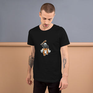 Masked Man Riding Tiger T-Shirt - Chodmunch