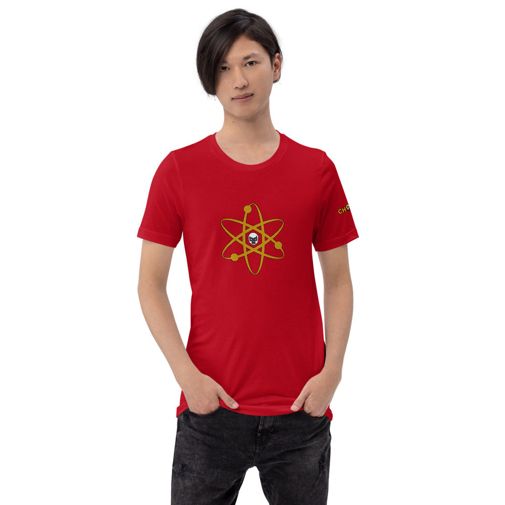 Atom T-Shirt with Logo - Chodmunch