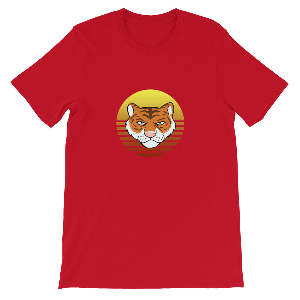 Tiger Retro Sun T-Shirt - Chodmunch
