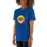 Tiger Retro Sun T-Shirt with Logo - Chodmunch