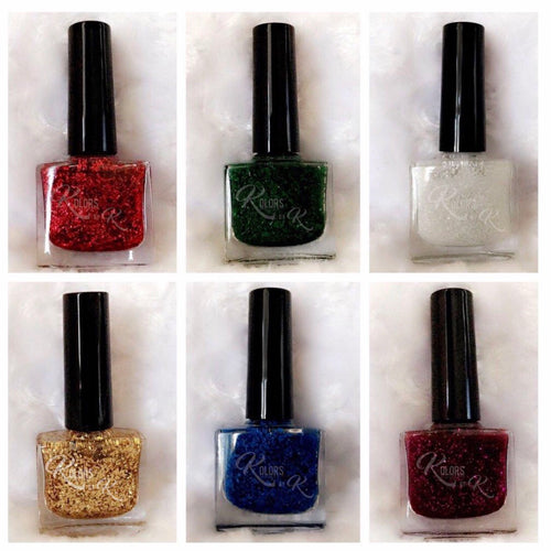 The Holiday Collection I (Cracked Polishes)