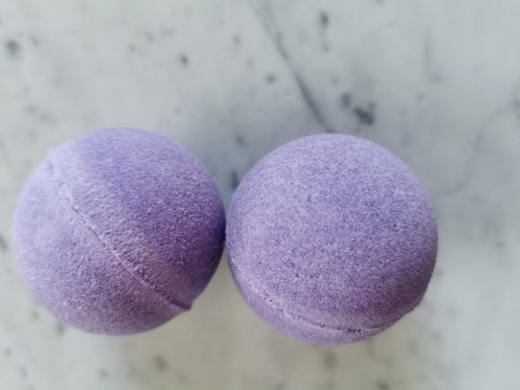 Lavender bath bombs to put some fizz into your bath