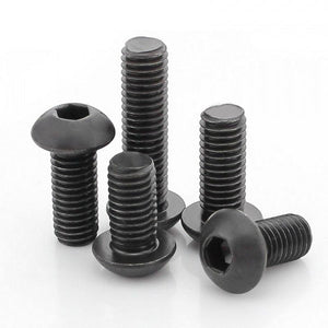 Buy M6 x 10MM MS Button Head Socket Screw Bolt online from DIY-India.com