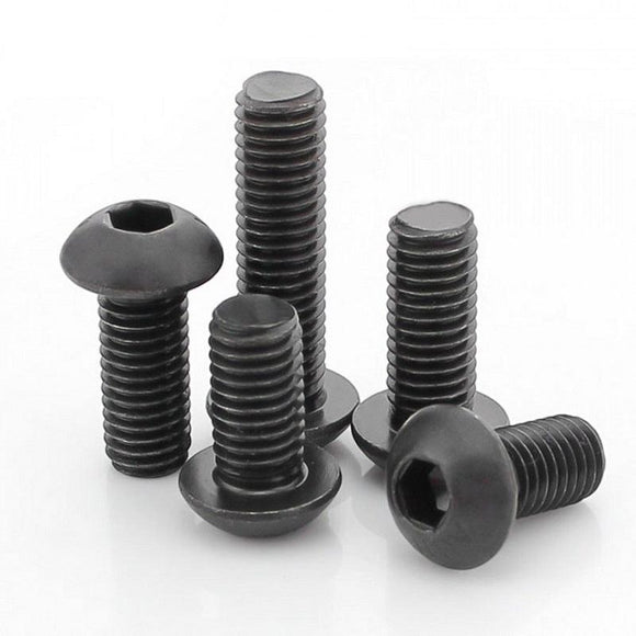 Buy M8 x 10MM MS Button Head Socket Screw Bolt online from DIY-India.com
