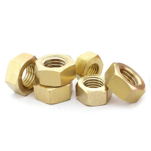 Buy M4 Brass Hex Nut online from DIY-India.com