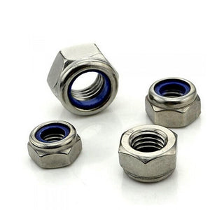 Buy M10 Nyloc Nut online from DIY-India.com