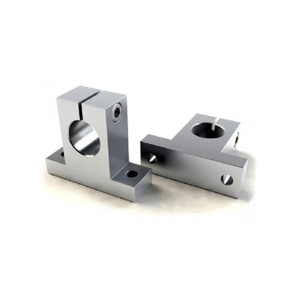 Buy 8MM Shaft Support / Shaft Mount Aluminium online from DIY-India.com