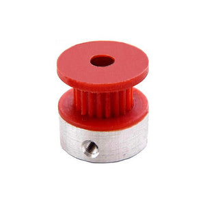 Buy 20 Tooth Nylon GT2 Timing pulley 5mm Bore dia, 6mm Width online from DIY-India.com