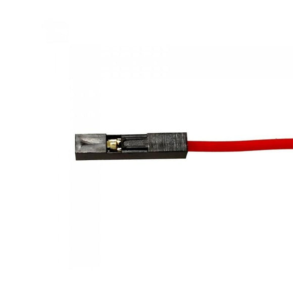 Buy 1 Pin Flat Connectors 1Meter Wire online from DIY-India.com