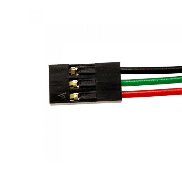 Buy 3 Pin Flat Connector 1Meter Wire online from DIY-India.com