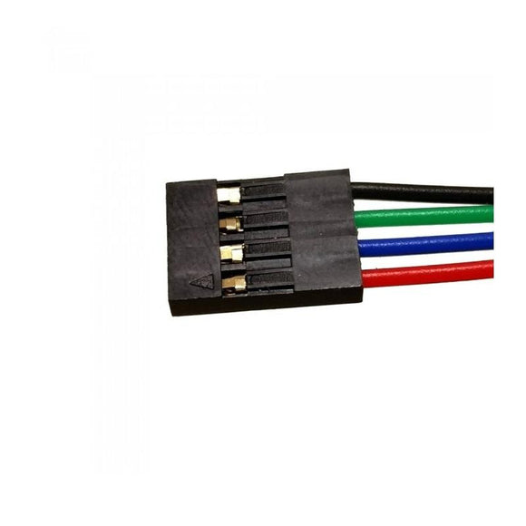 Buy 4 Pin Flat Connector 1Meter Wire online from DIY-India.com