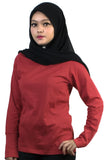 EM500 Heather CVC Ladies 165gsm