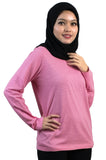 EM1100 Slub Long Sleeve Ladies Tee 160 gsm
