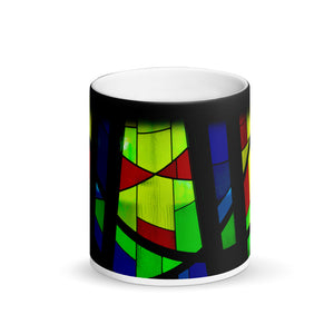 Stained Window Panes 11oz Matte Coffee  Mug