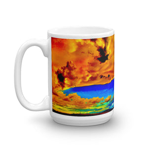 Exotic Sky Clouds Coffee Mug