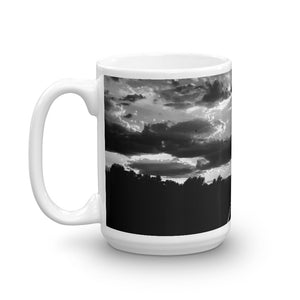 Sunset RailRoad Tracks 15oz Coffee Mug