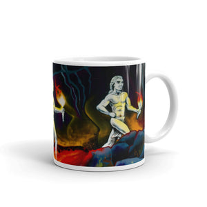 Hawaiian Warriors Running Coffee Mug