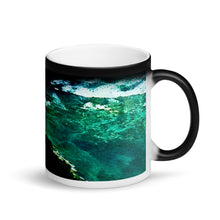 Load image into Gallery viewer, Hawaii Diamond Head Lighthouse 11oz Matte Black Magic Coffee Mug
