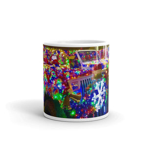 Jeeps On Parade Mug