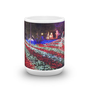 Xmas American Flag Coffee Mug