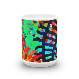 Abstract Track's Coffee Mug
