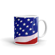 Load image into Gallery viewer, Brilliant American Flag Coffee Mug