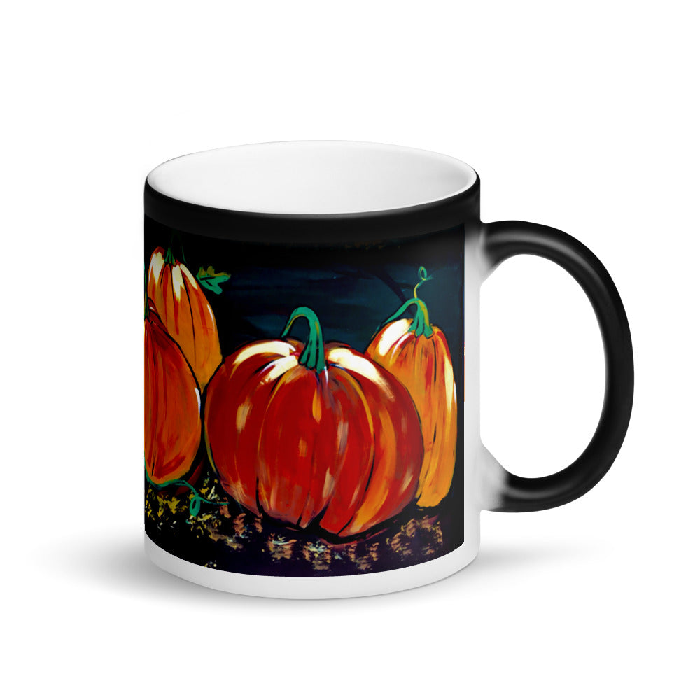 Pumpkin Patch 11oz Matte  Coffee Mug