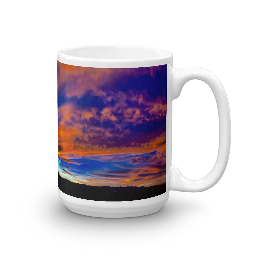 Sunset Of My Love 15oz Coffee Mug