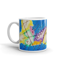 Load image into Gallery viewer, Map of Central America 11oz Coffee Mug