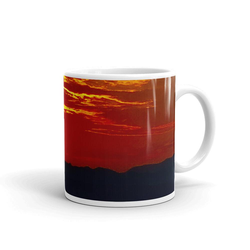 Bonnie Springs Sunset Mug