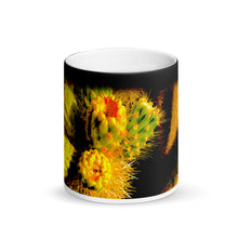 Load image into Gallery viewer, Cacti 11oz Matte Black Magic Coffee Mug