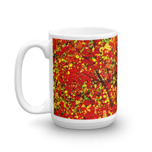 Load image into Gallery viewer, Red & Yellow Leaves Coffee Mug