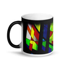 Load image into Gallery viewer, Stained Window Panes 11oz Matte Coffee  Mug