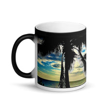 Load image into Gallery viewer, Waimea Bay Matte Black Magic 11oz Coffee Mug