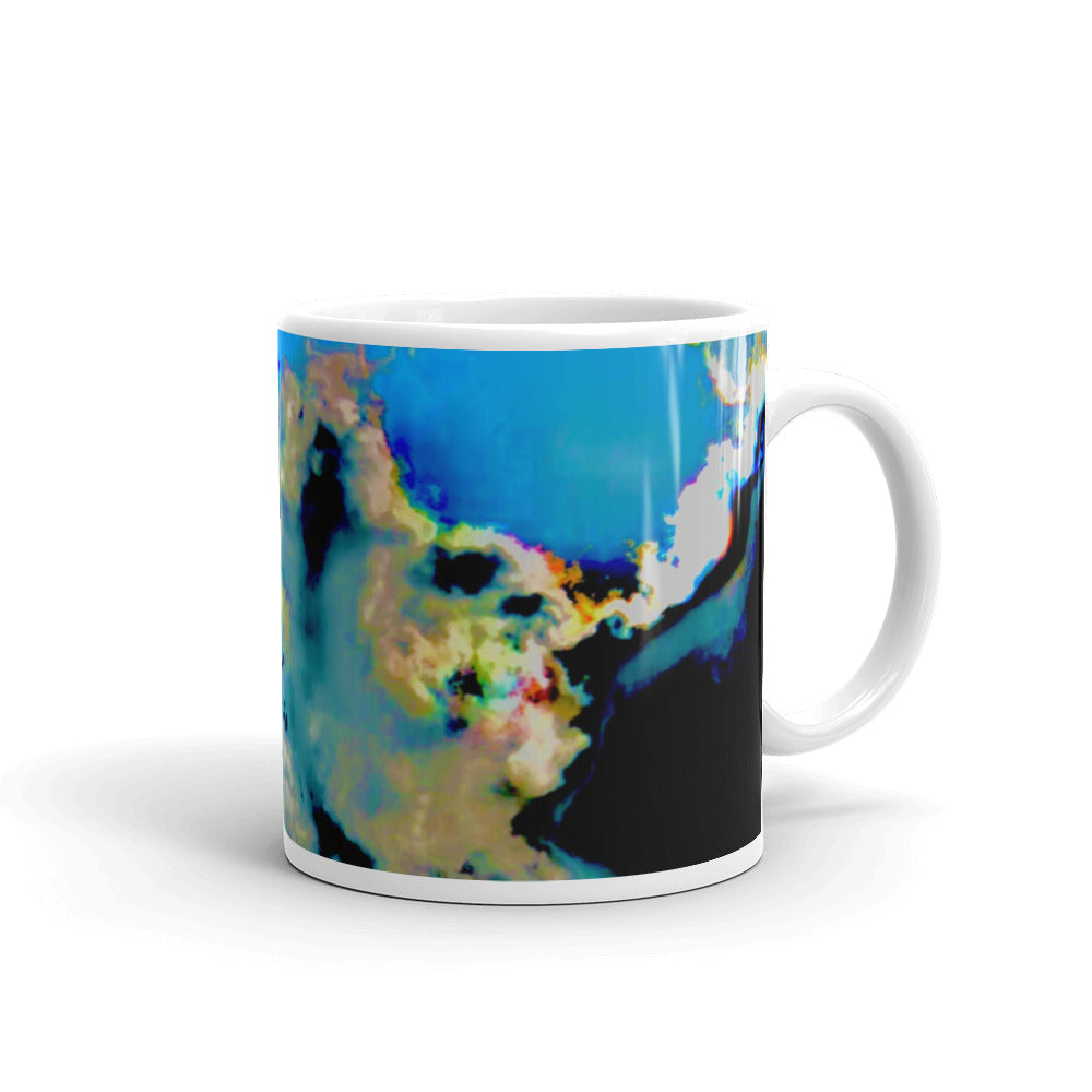 Transitioning Clouds Coffee Mug