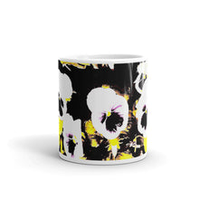 Load image into Gallery viewer, White Pansy's Mug