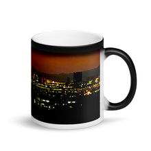 Load image into Gallery viewer, Las Vegas Skyline Sunset 11oz Matte Coffee Mug