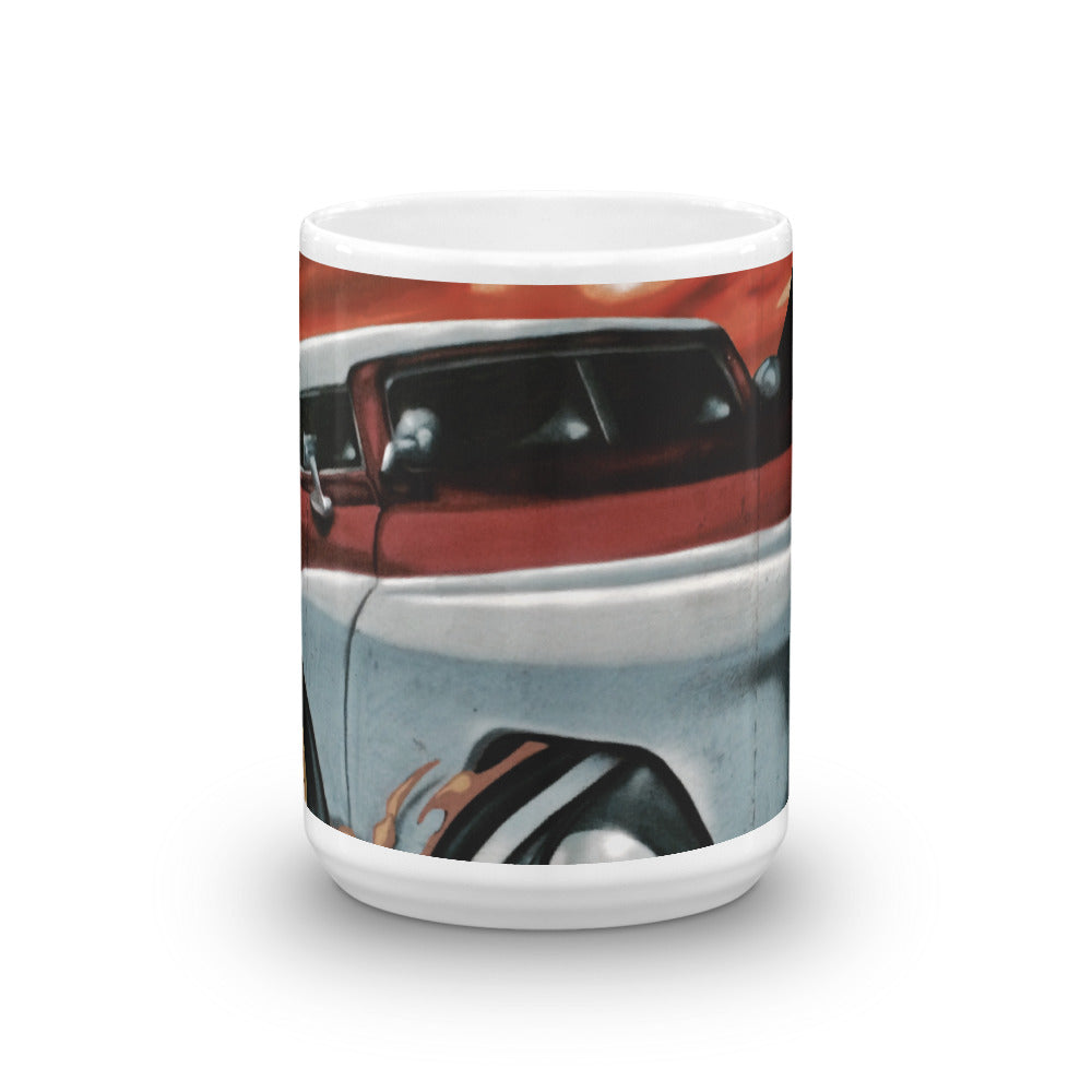 Classic Auto Back in the Day 15oz Coffee Mug