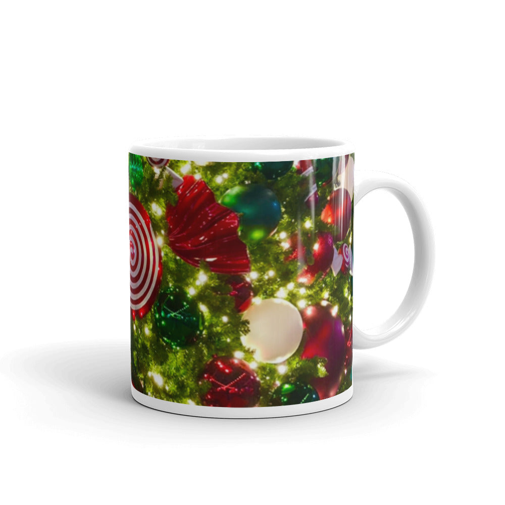 Christmas Tree Ornaments Mug