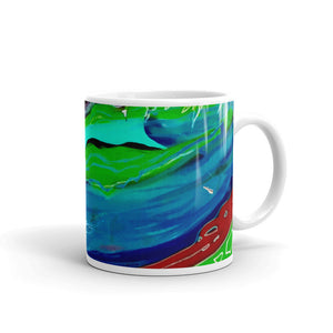 Swirling Coffee Mug
